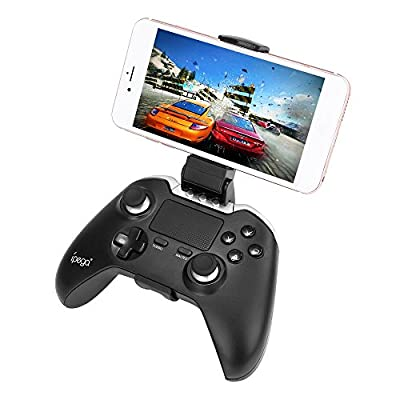 Ipega 9069 Bluetooth Controller Android Phone Controller Wireless Bluetooth Gamepad with Touchpad Vibration Function Joystick for Android,Windows PC,Galaxy S8 plus /Gear VR/TV BOX/Tablet