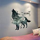 XiLi Joy Wandsticker Kunst Wandaufkleber Entfernbare Wandtattoos Wandbilder Hausdekoration für Schlafzimmer Wohnzimmer Junge Mädchen Babyzimmer kinderzimmer - TZ5280097