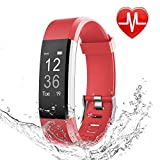 OMNiX HR Smart Wristband, Medium (Red, 115plushr parent)