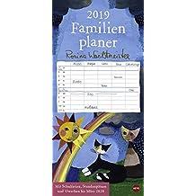 Rosina Wachtmeister Familienplaner - Kalender 2019