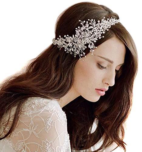 Butterme Femmes de cristal de diamant mariée de mariée...