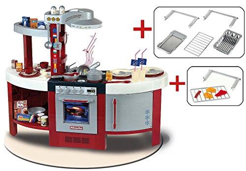 Theo Klein 3013 Exklusives Set Bestehend 9155 Miele Küche International mit Backrost (9154) und Nachrüstset (9259)