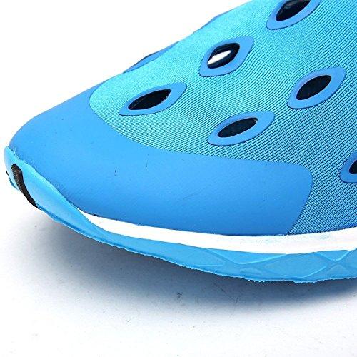 Oriskey Scarpe Da Mare Scarpette di Aqua da surf da spiaggia per Sport Acquatici per da donna Blu