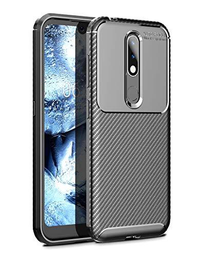 Case Collection Carbonfaser Design Hülle für Nokia 4.2 Hülle (5,71