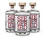 Siegfried Rheinland Dry Gin (3 x 0.5l) - vielfach mit Gold ausgezeichneter...