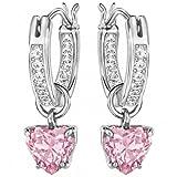 Swarovski Damen - pink/rosa Cristal