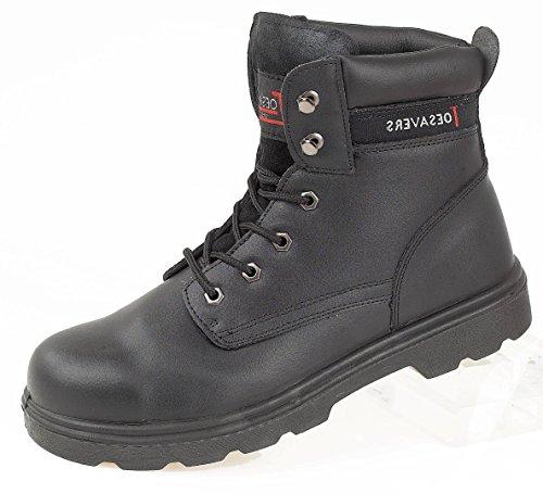 Toesavers 2416 - zapatos de seguridad, color Negro, talla 45.5
