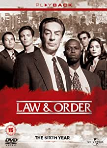 Law & Order - Season 6 - Complete [DVD]