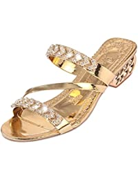 Lolittas Sliver Glitter Diamante Sandals for Women Ladies 2998def1c70d