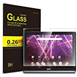 IVSO Schutzfolie Für Acer Iconia One 10 B3-A50, 9H Härtegrad, Schutzfolie Glas Panzerfolie Bildschirmfolie Bildschirmschutzfolie Für Acer Iconia One 10 B3-A50 10 Zoll 2018, (1 x)
