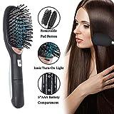 Best Women Hair Brushes - Ionic Hair Brush Ion Detangler Brush Anti-Static Curved Review
