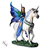 Nemesis Now Anne Stokes Realm of Enchantment Statue Fantasy Gothic Fairy Unicorn