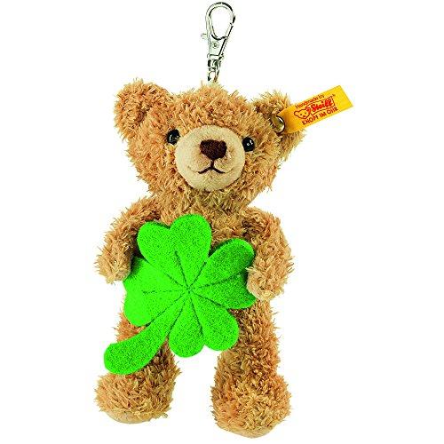 Steiff-Keyring-Lucky-Charm-Teddy-Bear-Plush-Toy-Golden-Brown