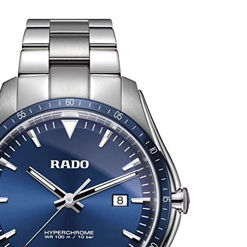 Orologio Rado hyperchrome r32502203da uomo in acciaio E Ceramica, con Quadrante Blu.