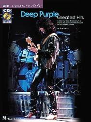 WARNER BROS.PUBLICATIONS - Guitare- tablature - Deep Purple - Signature Licks+Cd