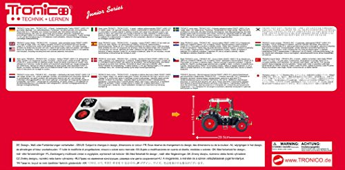 RC Auto kaufen Traktor Bild 6: Metallbaukasten RC Traktor Fendt Vario 313 - 574 Teile 1:24 LED Komplett-Set Werkzeug ab 12 Jahren Anleitung Erwachsene Metallbaukästen Metallbautechnik Lernfeld Tronico*