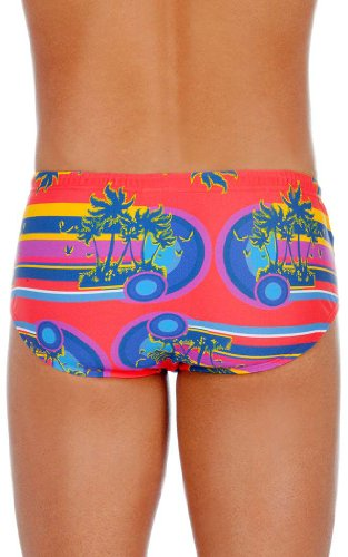 MUNDO UNICO SWIMWEAR PLAYA ISLAND Orange