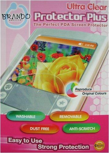 BRANDO Displayschutzfolie Protector Plus Ultra Clear für Palm Treo 680, Displayfolie, Kratzschutz, Schutzfolie, Displayschutz, PDA, Pocket PC -