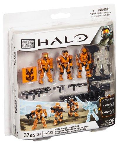 Mega Bloks 97083V - Halo UNSC Combat Orange Unit