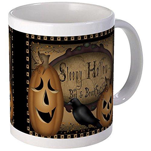 CafePress Einzigartige Tasse Primitiv Sleepy Hollow Halloween Becher -, keramik, Weiß, Größe S
