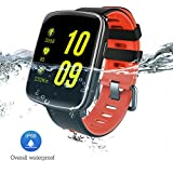 Fitness Tracker resistente al agua Fashion Sports Smartwatches - awow GV68 1.54 pulgadas IP68 Colorful pantalla táctil reloj inteligente Monitor de ritmo cardíaco deporte pulsera podómetro