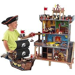 Juego de madera La cueva pirata.