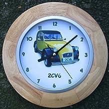 Mecanismo de cuarzo de Madera reloj de pared Citroën 2CV6