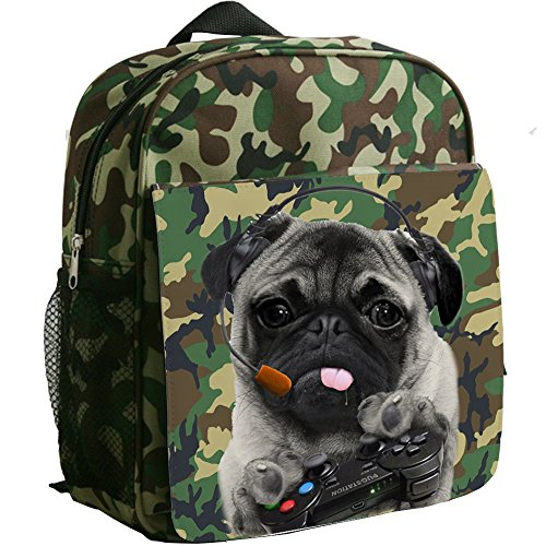 personalised-gamer-pug-ps-funny-camouflage-childrens-backpack-kids-rucksack-childs-toddler-boys-nurs