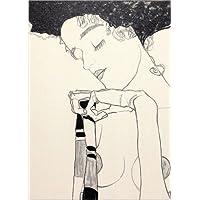 Posterlounge Leinwandbild 30 x 40 cm: Gerti Schiele von Egon Schiele - fertiges Wandbild, Bild auf Keilrahmen, Fertigbild auf echter Leinwand, Leinwanddruck