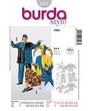 Burda 2527 Schnittmuster Kostüm Fasching Karneval Till Eulenspiegel Harlekin (Damen & Herren, Gr. 34-52) – Level 3 mittel