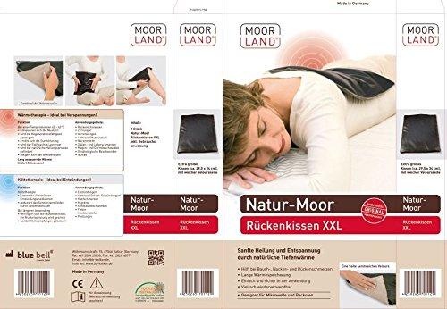 Moorkissen Moor-Rückenkissen XXL 34 x 30 cm von BeinioTherm