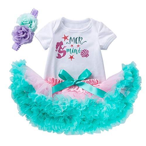 Meerjungfrau Kleider Für Kleine Mädchen - FYMNSI Baby Mädchen Kleine Meerjungfrau Ersten
