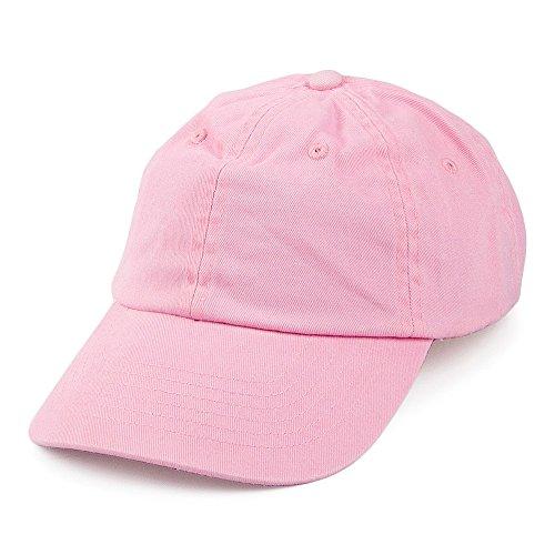 Village Hats Casquette en Coton Délavé Rose - Rose - Ajustable