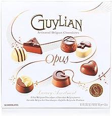 Guylian Belgian Chocolates Opus Luxury Assortment Gift Box, 180g