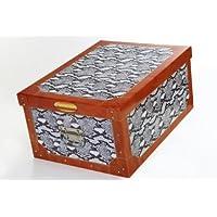 Artra Deko-Karton Original-Bauli Ordnungsboxen Motiv Python Schlange Aufbewahrungsbox für Haushalt Büro Wäsche Geschenkbox Dekokarton Sammelbox Mehrzweckbox Ordnungskarton Ordnungsbox Geschenkekarton preisvergleich bei kinderzimmerdekopreise.eu