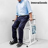 innovagoods ig115694Support de sécurité avec porte-revues pour toilettes