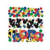 Amscan Mickey Mouse FESTA CORIANDOLI DA TAVOLO confezione tripla