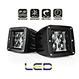 2*AFTERPARTZ® Flutlicht LED Arbeitsscheinwerfer Werkstattleuchte (F3 20W)