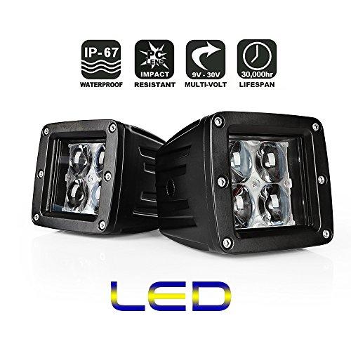 Preisvergleich Produktbild 2*AFTERPARTZ® Flutlicht LED Arbeitsscheinwerfer Werkstattleuchte (F3 20W)