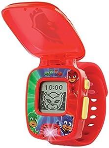 VTech- PJ Masks Buhita, Reloj Digital Educativo Que estimula el Aprendizaje e incorpora minijuegos y Actividades, Color Rojo (3480-175857)