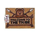 Star Wars Bienvenido a la tribu Felpudo, coco, marrón, 60x 40x 1,5cm