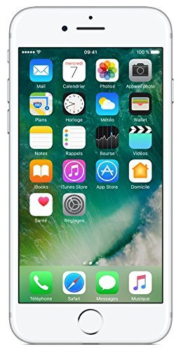 "Apple iPhone 7 Smartphone 4G (Display: 4,7"" - 32 GB - iOS 10) Argento (Ricondizionato)"