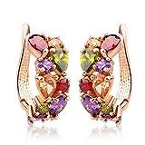 Jewels Galaxy Luxuria 18K Rose Gold Plat...
