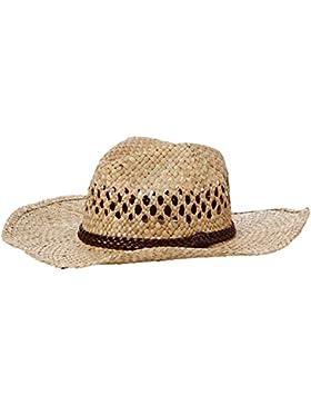 New Look Mujer PU banda, sombrero de cowboy