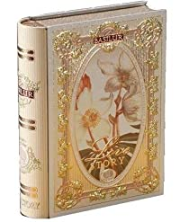 Basilur Pure Ceylon Green leaf tea with amaranth, white rum 'Love Story Volume #3' in metal caddy, 100 gr