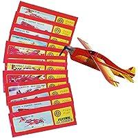 JT Gleitflugzeuge Set - der Klassiker für Den Kindergeburtstag - Styropor-Flieger - einzeln Verpackt - für Tombola Schultüte Mitgebsel Überraschung