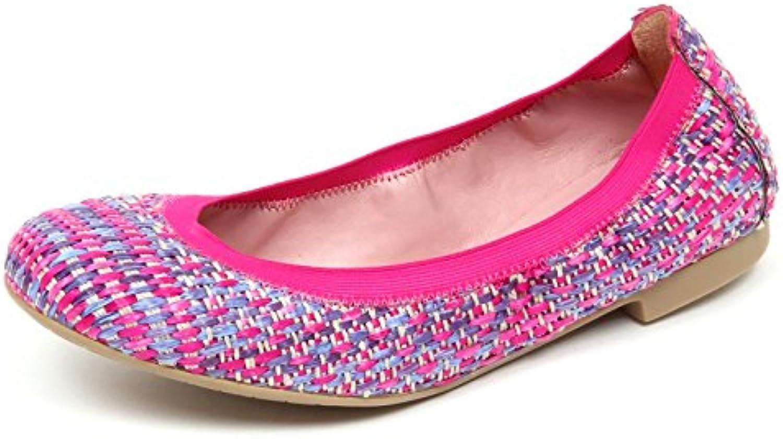 Pretty Ballerinas E1900 Ballerina Donna Tissue Fucsia Scarpe Shoe Woman