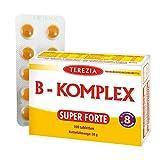 Vitamin B Komplex hochdosiert, (100 Stück, Vitamin B1, B2, B3, B5, B6, B7, B9, B12) perfekt zur Unterstützung der Haut, Immunsystem, Psyche, Haare, Nägel und für eine bessere Leistungsbereitschaf