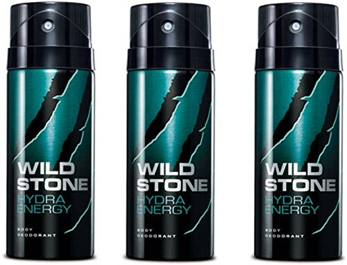 Wild Stone Hydra Energy Body Spray - For Men (150 ml)(Ship from India) (Hydra-spray)