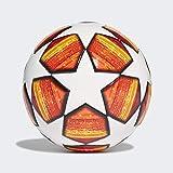 adidas Finale Mini Ball da Uomo, Parte Superiore: Bianco/Rosso Scarlatto Fondo: Arancione/Oro Solare/Nero, 1